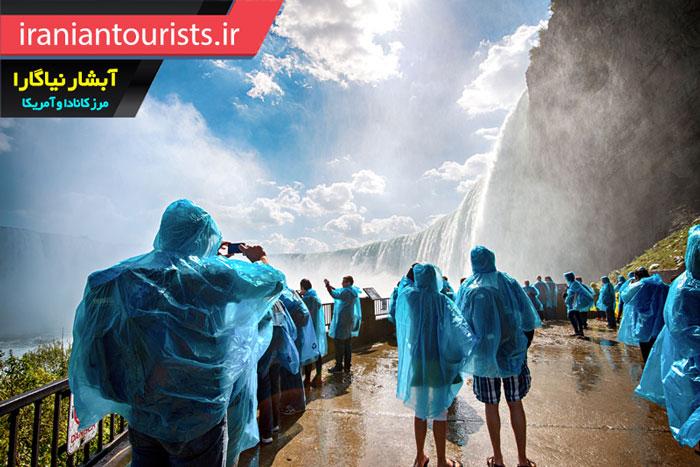دیدنی ترین منظره آبشار نیاگارا برای توریست ها