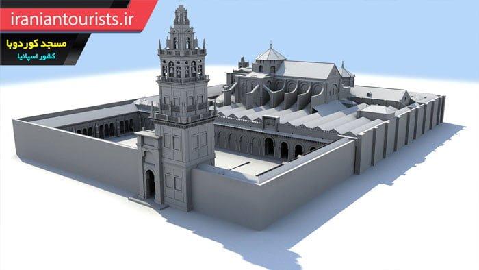 ماکت ساختمان مسجد کوردوبا | کشور اسپانیا