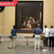 آثار هنری در موزه ملی پرادو شهر مادرید کشور اسپانیا