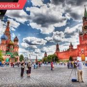 میدان سرخ شهر مسکو روسیه