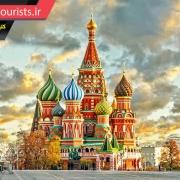 کلیسای سنت باسیل شهر مسکو روسیه