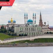 ارگ کرملین در کازان کشور روسیه