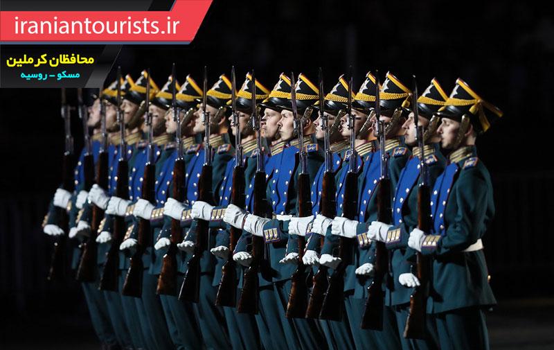 محافظان کاخ کرملین روسیه