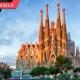 کلیسای ساگرادا فامیلیا واقع در شهر بارسلون اسپانیا