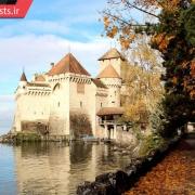 قلعه چیلون در کشور سوئیس