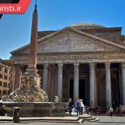 معبد پانتئون شهر رم در کشور ایتالیا
