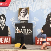 تمرین یوگا و مدیتیشن در آشرام بیتلز