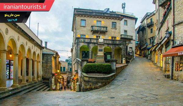 معماری سنگی و قدیمی سن مارینو