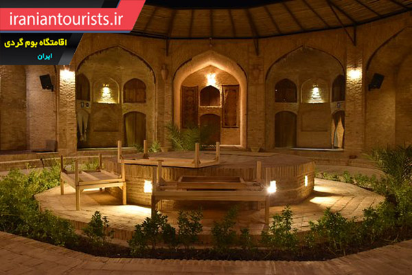 کاروانسرای زین الدین اقامتگاه بومگردی تاریخی در دل کویر