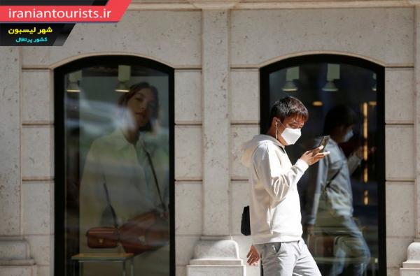 رعایت نکات بهداشتی توصیه شده توسط سازمان بهداشت جهانی شهروندان شهر لیسبون