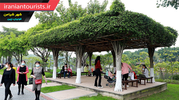 نمایشگاه باغبانی شهر شیامن در تاریخ 11آوریل سال جاری