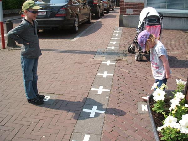 مرزی جالب و دیدنی میان بلژیک و هلند
