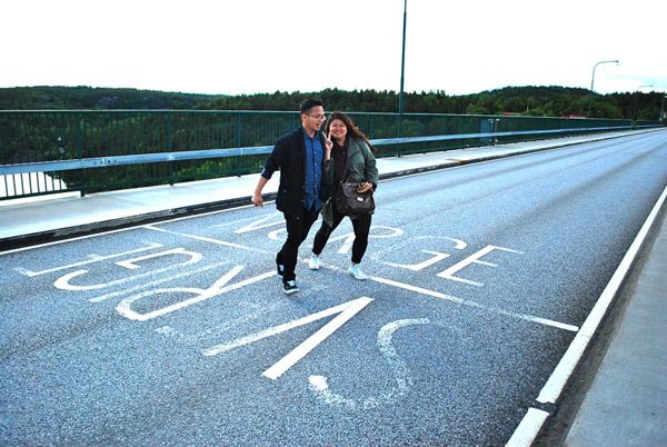 مرز بدون حصار دو کشور سوئد و نروژ
